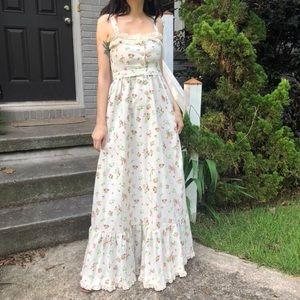 SOLD Vintage berry dress
